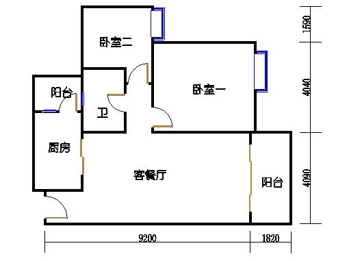 2号楼1层12号04单元