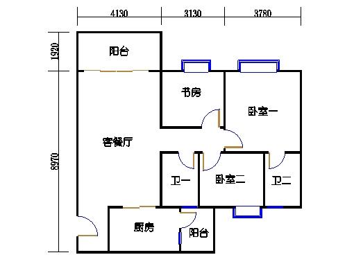 2号楼1层16号01单元