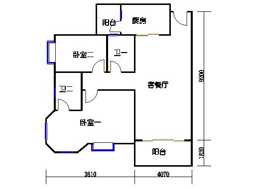 2号楼1层18号03单元