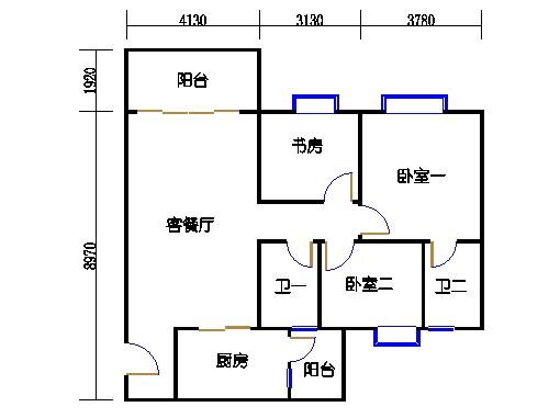 2号楼2层9号01单元