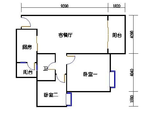 2号楼2层10号03单元