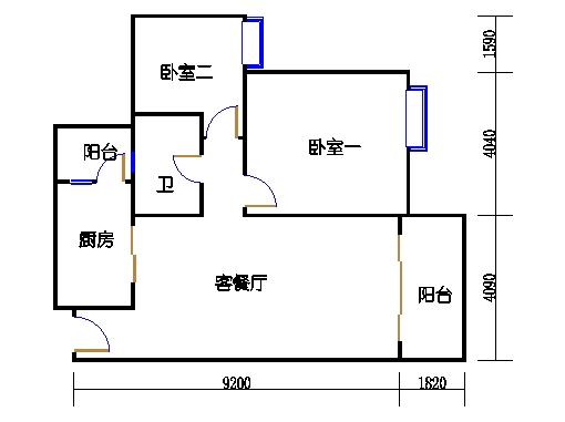 2号楼2层10号04单元