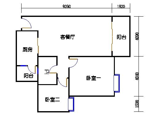 2号楼2层11号03单元