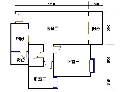 2号楼2层16号03单元