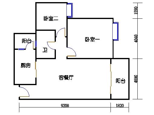 2号楼2层18号04单元