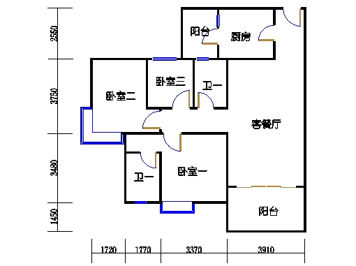 4号楼2层30号03单元