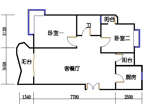 8-10栋5-14层8-03单元