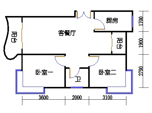8-10栋5-14层10-01单元