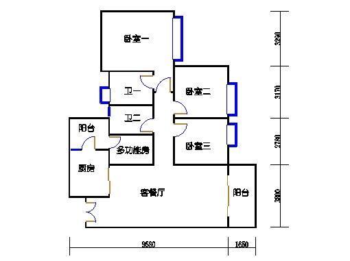 B-C栋2-11层01单元