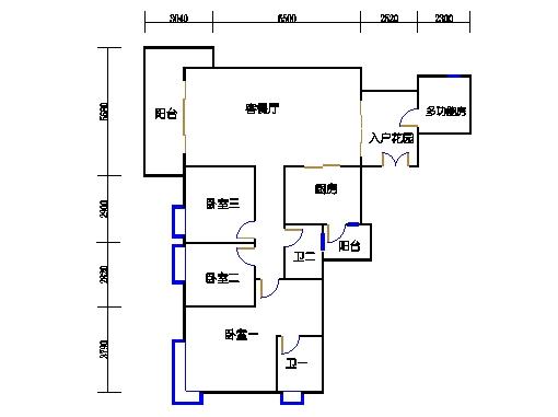 B-C栋2-11层03单元