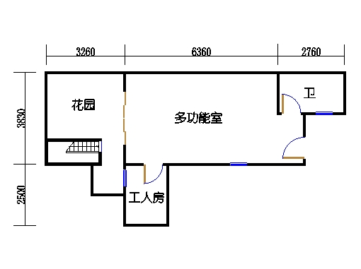 B-2单元地下层