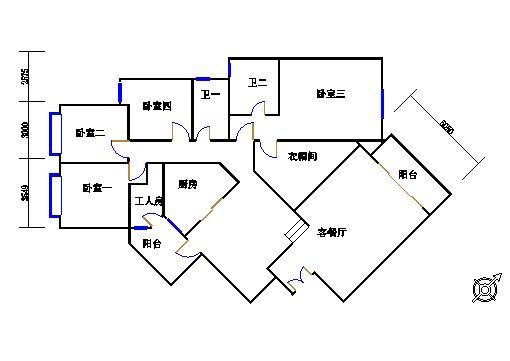 1栋6-31层02单位