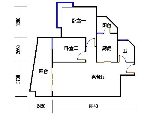 6H栋23-28层01单元