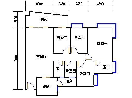 6H栋23-28层06单元