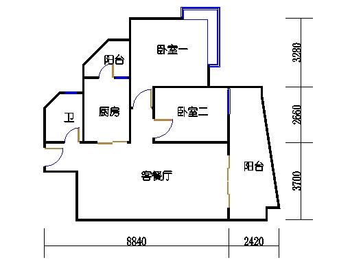 6H栋23-28层08单元