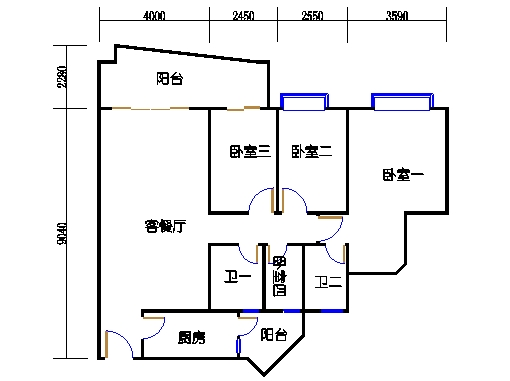 6H栋7-21层03单元