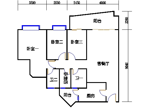 6H栋7-21层05单元