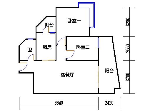 6H栋7-21层08单元