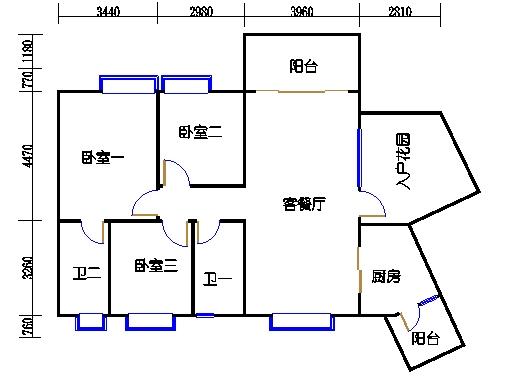 C11栋3层03单元