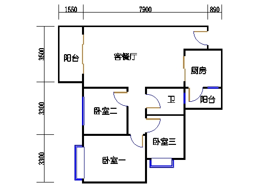 D2.D3栋2层01单元