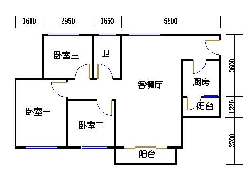 D2.D3栋2层03单元