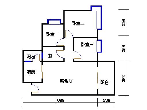 D2.D3栋3层01单元