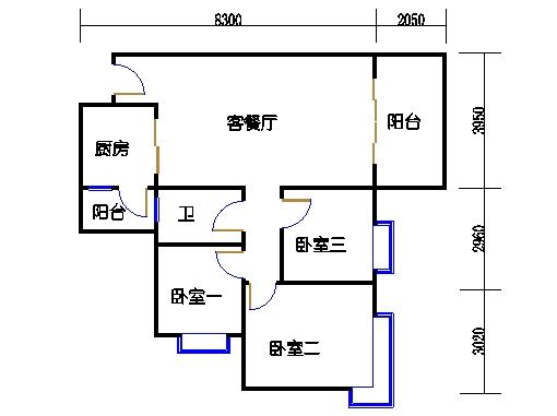 D2.D3栋3层02单元