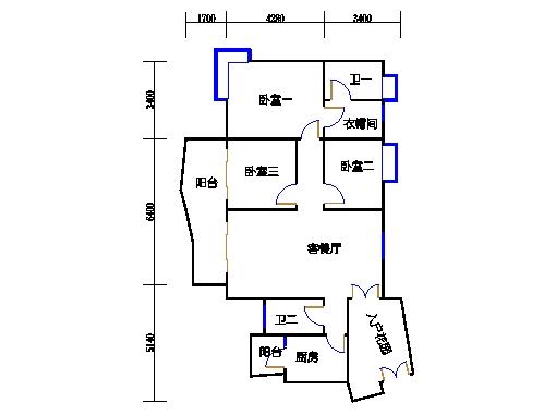 A6栋2层03单元
