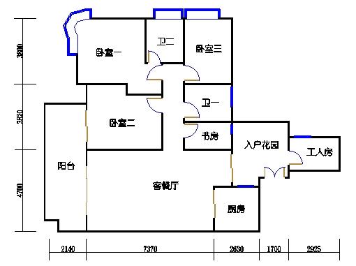 A6栋3-11层02单元
