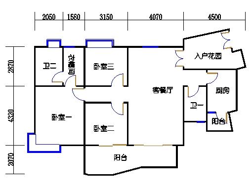A6栋3-11层03单元