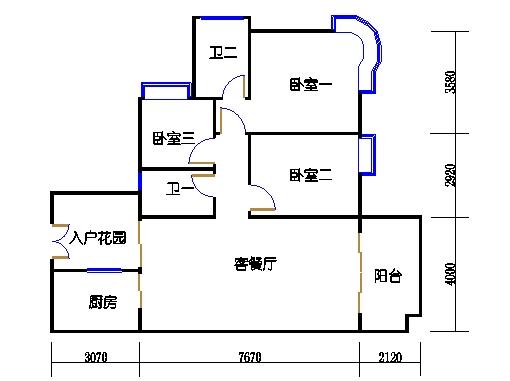 A6栋3-11层04单元