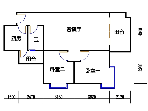 A6栋3-11层05单元