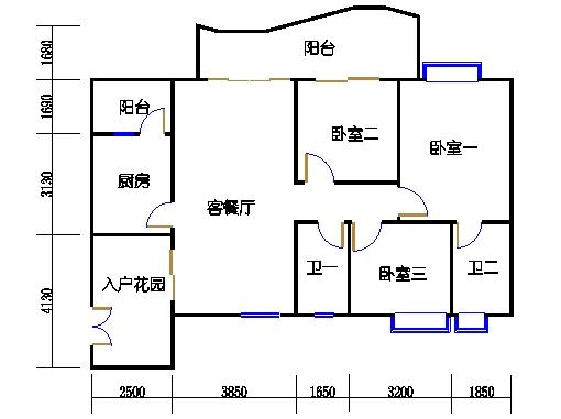A6栋3-11层06单元
