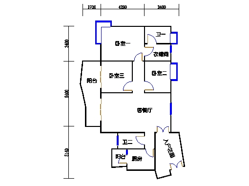 A6栋12-24层03单元