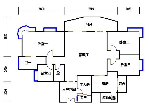 A6栋12-24层04单元