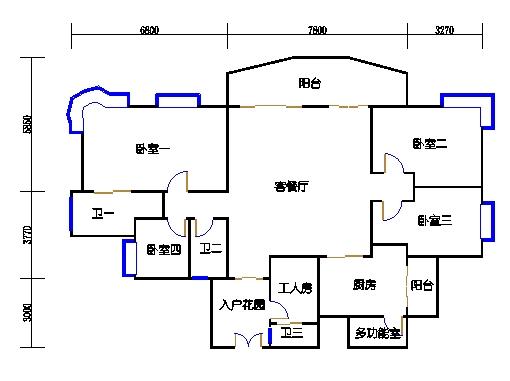 A6栋25-29层04单元