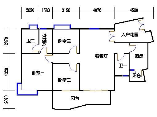 A8栋2层03单元