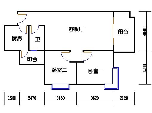A8栋2层05单元