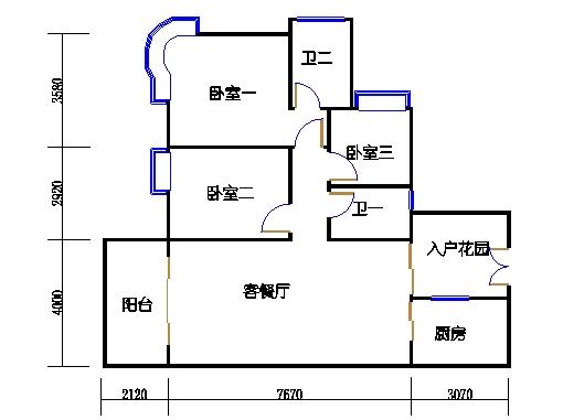 A9栋3-7层05单元