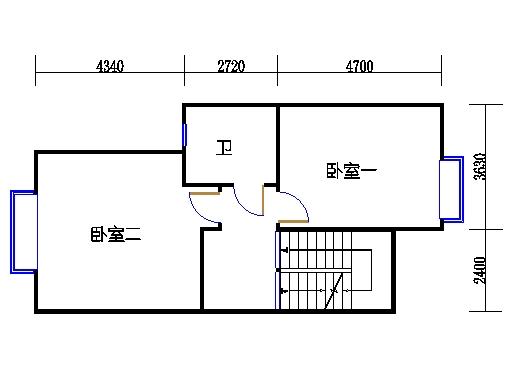 A1单元二层