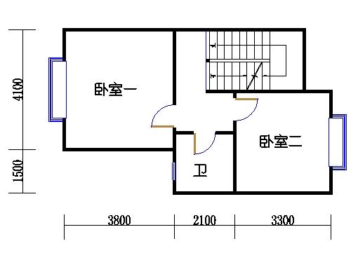 A2单元二层