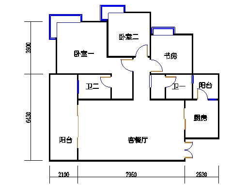 8栋18层06单元