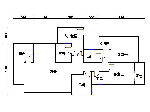 A单元3-5层