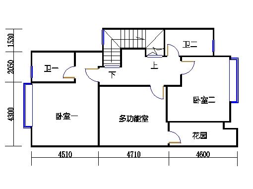D1单元a二层