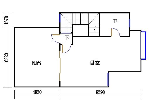 D1单元a三层