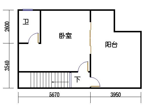 H1单元c三层