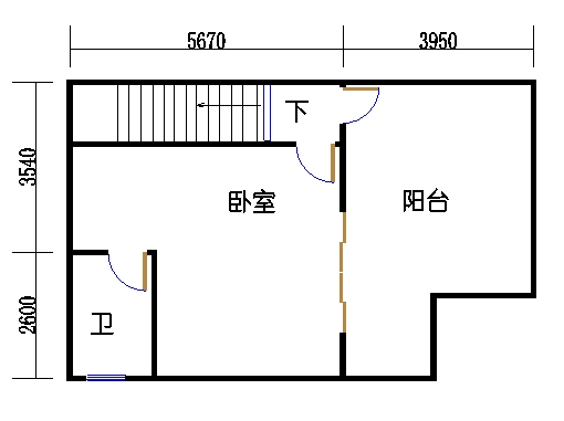 H1单元d三层