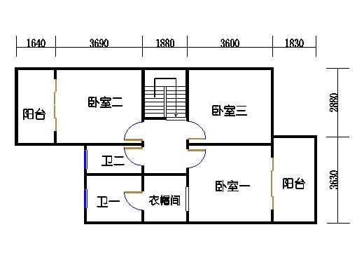T2单元b二层