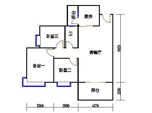 D3栋4层02单元