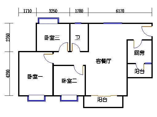 D3栋4层03单元